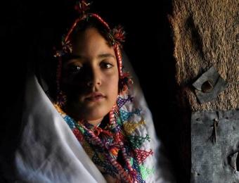 The beautiful girl Nour